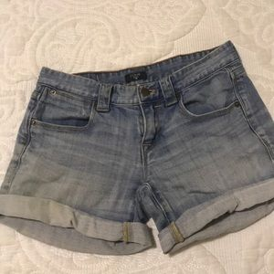 JCrew lightwash denim shorts